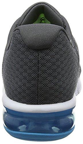 Nike Herren Air Max Sequent 2 Laufschuhe Grau (Grisfoncé/noir/discret/argentmétallique)