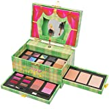Christmas New Year Special Offer Jumbl™ Carry All Musical Colors Make up Kit - Included 12 Eyeshadows 3 Eyebrow Powders 1 Shimmer Face Powder 3 Face Powders 2 Blushes 6 Lip Colors and Applicators -Jumbl™ Brush and Mirror Included (Green)