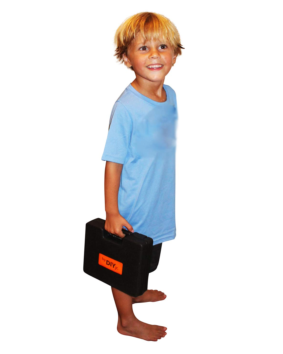 Lightweight LED Light Carrying Case My First Power Drill Set 5 Year Warranty Child Size Kit Includes Bits Charger Real Cordless Drill for Boys and Girls