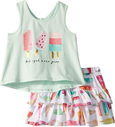 Kate Spade New York Kids Baby Girl's Summer Treats Skirt Set (Infant) Fresh Mint 12 Months -  93E02081-33