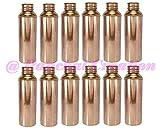 Panchal Creation 12 Pcs 800 Ml Flask Traditional Copper Storage Bottle Ayurvedic Health Benefits