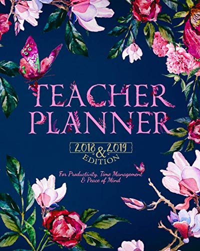2018-2019 Teacher Planner: Best Daily, Weekly and Monthly Lesson Planner | Record Book | Academic Year Lesson Plan for Productivity, Time Management ... (November 2018 ~ September 2019) (Volume 1) - Teachers Daily Record Book