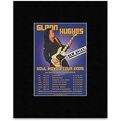 GLENN HUGHES - Soul Mover Tour 2005 Mini Poster - 13.5x10cm
