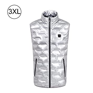 Zexa USB Electric Heated Vest for Women, Intelligent Anti Cold Vest
