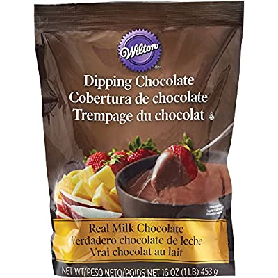 Wilton Microwaveable Real Milk Chocolate Melting Chocolates 1 lb. Bag
