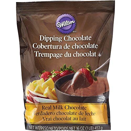 Wilton Microwaveable Real Milk Chocolate Melting Chocolates 1 lb. Bag