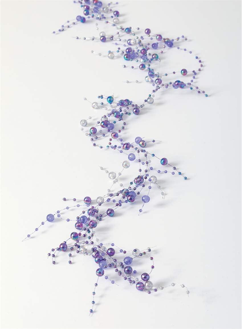 Magenta 5 Sullivans Acrylic Beaded Garland