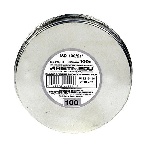 Arista EDU Ultra 100 ISO Black & White Film, 35mm x 100 ft.