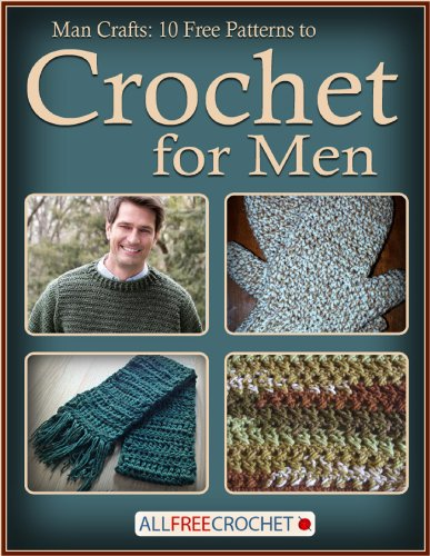 Man Crafts: 10 Free Patterns to Crochet for Men ()