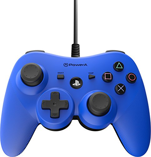 POWER A WIRED CONTROLLER for PS3 - BLUE (Blue Power)