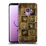Official HBO Game of Thrones All Houses Golden Sigils Soft Gel Case for Samsung Galaxy S9