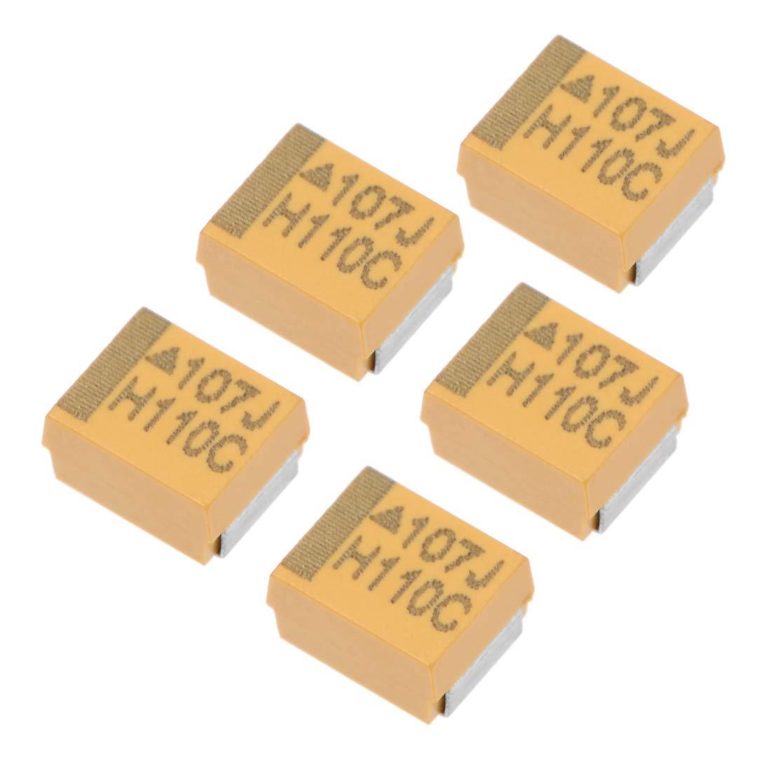 2 Pack SMD Electrolytic Capacitor 35V 220uF SMT