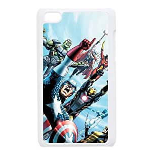 iPod Touch 4 Case White Marvel comic 010 Exquisite designs Phone Case TF727144