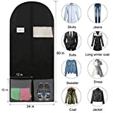 "MASKEYON 60"" Garment Bags with Large Zipper"
