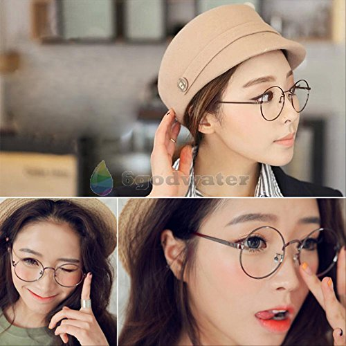 [2016 most popular glasses Cosplay Glasses Spectacles Round Eyewear Bronze] (Dobby Harry Potter Costumes)