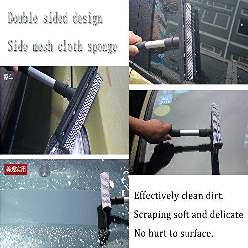 Boonor Car Wiper Sponge Hand held Raclette éponge Fenêtre Eau Douche Suppression de nettoyage Nettoyant pour vitres