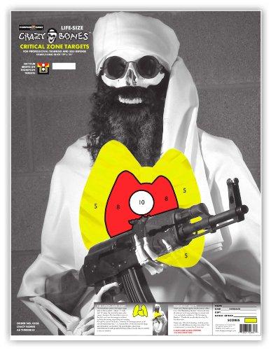 rifle targets human - 6