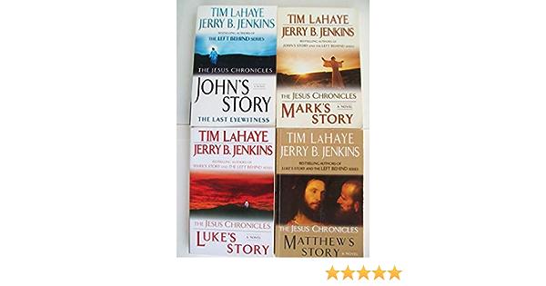 Jesus Chronicles Series Set Of 4 John S Story Mark S Story Luke S Story Matthew S Story Books