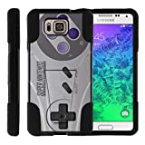 TurtleArmor | Compatible for Samsung Galaxy Alpha Case | G850 [Gel Max] Hybrid Dual Layer Hard Shell Kickstand Silicone Case – Classic Game Controller Review
