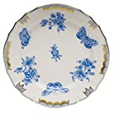 Herend Fortuna Blue Bread & Butter Plate