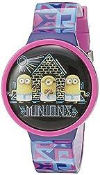 Universal Pictures Kids' MINSKD038 Digital Display Quartz Multi-Color Watch Set