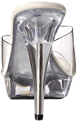 Fabulicious Damen Cocktail-501 Offene Sandalen Transparent (Clr/Clr)