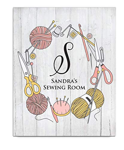 Personalized Sewing Print   Craft Room Decor   Sewing Gift   Sewing Room Decor   Sewing Decoration   Mothers Day Gift   Knitting Gift   Quilting Gift   Personalized Gift for Grandmother from Canary Road