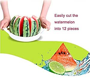 Stainless Steel Melon Watermelon Cantaloupe Slicer Cutter by Abcstore99