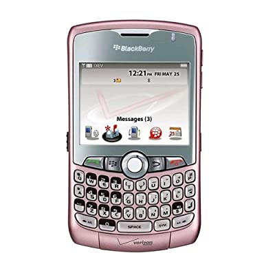 Verizon RDU-14176-056 BlackBerry Curve 8330 Replica Dummy Phone/Toy Phone, Pink: Toys & Games