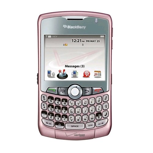 Verizon RDU-14176-056 BlackBerry Curve 8330 Replica Dummy Phone/Toy Phone, Pink (Blackberry Curve Best Model)