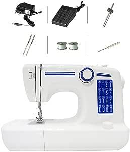 Máquina de coser portátil con lámpara de pie 16 puntos Máquina ...