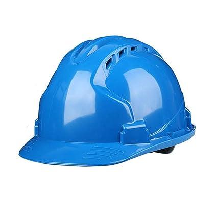 7a4d5b4e5a6cd X   F Casco de construcción-Duro Sin ventilación Sombrero de Seguridad  Equipo de protección