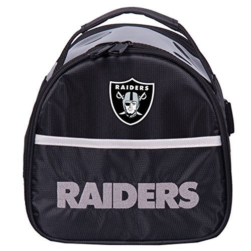 KR Strikeforce Oakland Raiders Single Add On Bowling Bag, Multicolor