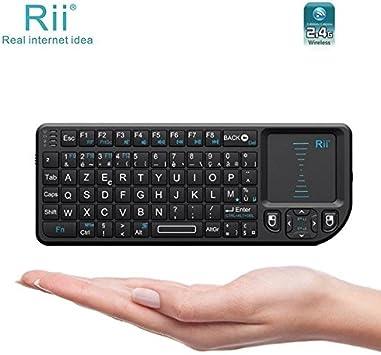 Riitek Rii Mini Wireless Keyboard X1 – Teclado inalámbrico compacto para Windows – Mac OS X – Linux – Android – Smart TV – Playstation 3 y 4 – Xbox 360 y One – Raspberry Pi (Categoría: teclado): Amazon.es: Electrónica