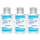 Kanzd Portable Refreshing Hand Soap Gel to Instant Skin Cleansing, Disposable Hand Sanitizer Gel for Adults & Children, Soft and Non-irritating Hand Sanitizer Gel - Rinse-Free Hand Cleanser (3PCS)