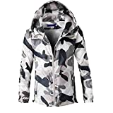 Corriee Fashion Tops for Men 2018 Stylish Camouflage Print Long Sleeve Hooded Coat Fall Casual Outwear Blouse