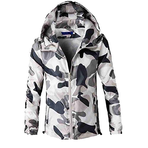 Corriee Fashion Tops for Men 2018 Stylish Camouflage Print Long Sleeve Hooded Coat Fall Casual Outwear Blouse by Corriee Men Hoodies