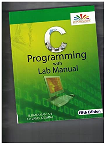 Amazon in: Buy C PROGRAMMING WITH LAB MANUAL (FIFTH EDITION