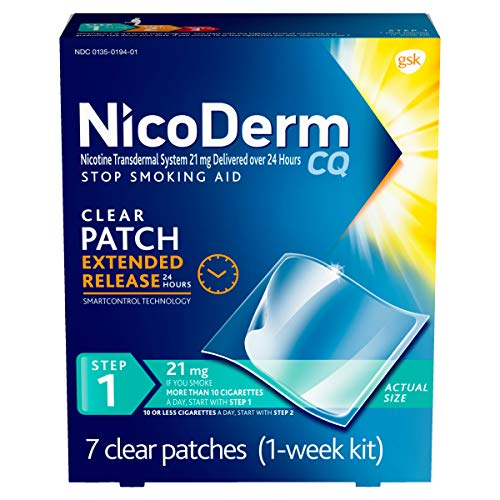 NicoDerm CQ Step 1 Nicotine Patches to Quit