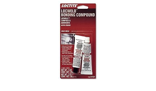 Amazon.com: Loctite 37531 LocWeld Epoxy Bonding Compound Tube, 1-oz., (Pack of 2): Automotive