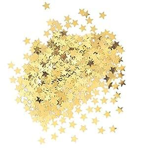 Metallic Star Confetti, Gold