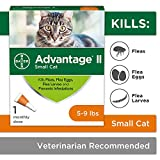Flea Prevention for Cats - over 9 lb - 1 dose - Advantage II