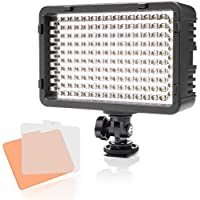 Selens 168 LED Dimmable Ultra High Power Panel Digital Camera / Camcorder Video Light, LED Light for Canon, Nikon, Pentax, Panasonic,SONY, Samsung and Olympus Digital SLR Cameras