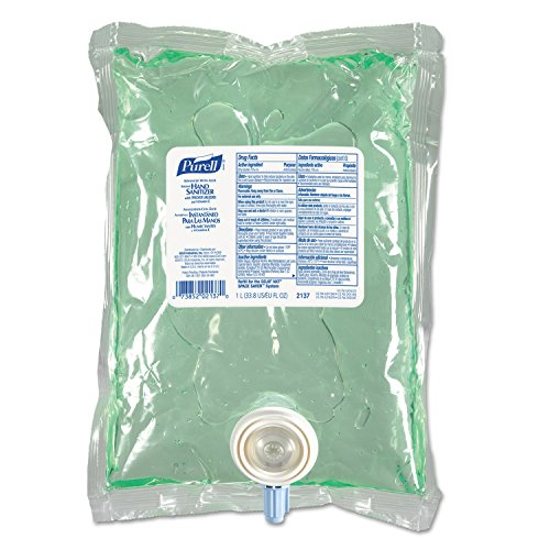 PURELL Advanced Nxt Instant Hand Sanitizer Nxt Refill W/Aloe, 1000Ml Refill