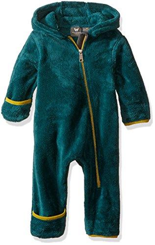 - White Sierra Kids Cozy Fleece Onesie Jacket, Pacific, 6 Months