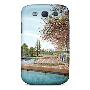 Anti-scratch And Shatterproof Nature Hd Phone Case For Galaxy S3/ High Quality Tpu Case