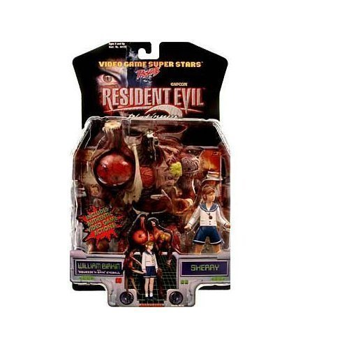 - Resident Evil 2 William Birkin and Sherry Action Figures
