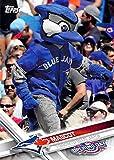 2017 Topps Opening Day Baseball Mascots Insert #M-20 Blue Jays Mascot Blue Jays