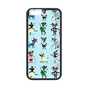 iPhone 6 Protective Case - Funny Cartoon Hardshell Cell Phone Cover Case for New iPhone 6 Designed by HnW Accessories