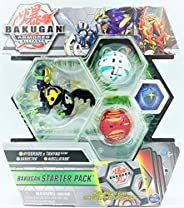 Bakugan Armored Alliance Starter Pack - Hydorous x Trhyno Fusion, Collectible Transforming Creatures, for Ages